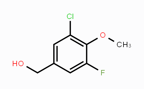 886497-33-2 | 3-Chloro-5-fluoro-4-methoxybenzyl alcohol