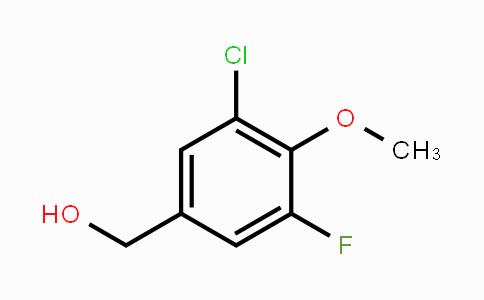 MC449810 | 886497-33-2 | 3-Chloro-5-fluoro-4-methoxybenzyl alcohol
