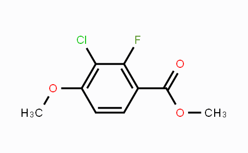 MC449819 | 2121309-20-2 | Methyl 3-chloro-2-fluoro-4-methoxybenzoate