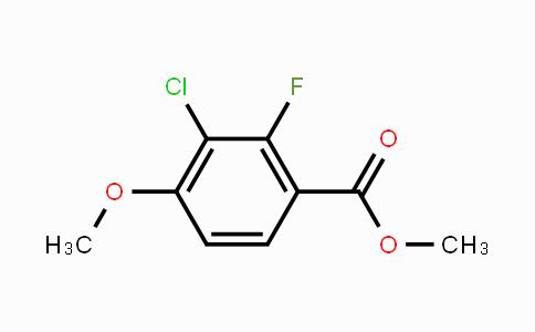 2121309-20-2 | Methyl 3-chloro-2-fluoro-4-methoxybenzoate