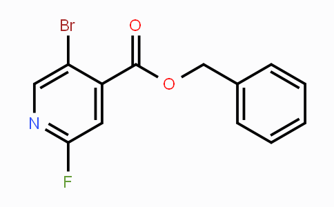 1993479-32-5 | Benzyl 5-bromo-2-fluoropyridine-4-carboxylate