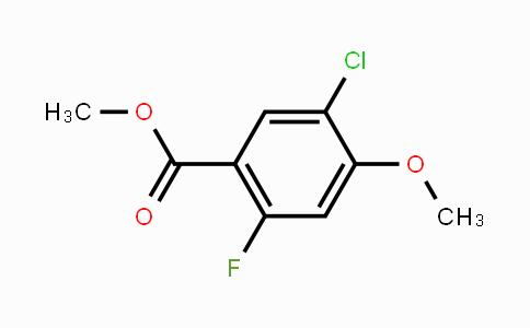 MC450029 | 211172-73-5 | Methyl 5-chloro-2-fluoro-4-methoxybenzoate