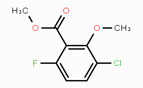 1879026-27-3 | Methyl 3-Chloro-6-fluoro-2-methoxybenzoate