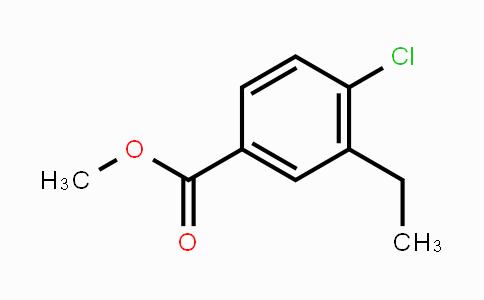 MC450130 | 1345037-42-4 | Methyl 4-chloro-3-ethylbenzoate