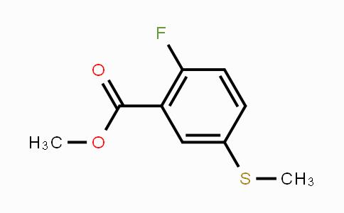 1541278-55-0 | Methyl 2-fluoro-5-(methylsulfanyl)benzoate