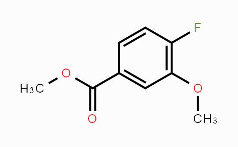 74385-37-8 | Methyl 4-fluoro-3-methoxybenzoate