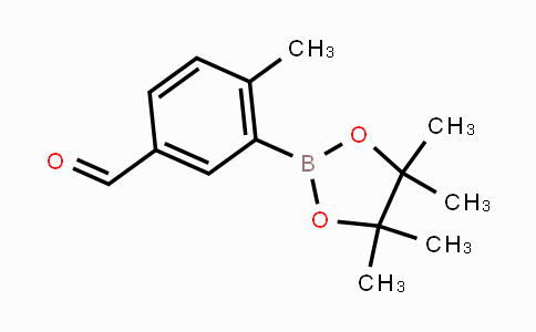 847560-50-3 | 4-Methyl-3-(tetramethyl-1,3,2-dioxaborolan-2-yl)benzaldehyde