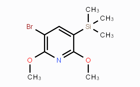 DY450227 | 1879026-20-6 | 5-Bromo-2,6-dimethoxy-3-(trimethylsilyl)pyridine