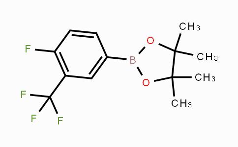 MC450280   445303-14-0   4-Fluoro-3-(trifluoromethyl)phenylboronic acid pinacol ester