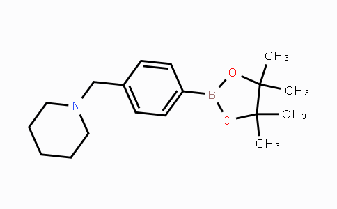 859833-22-0 | 4-(Piperidin-1-ylmethyl)phenylboronic acid pinacol ester