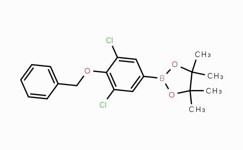 2121512-17-0 | 4-Benzyloxy-3,5-dichlorophenylboronic acid pinacol ester