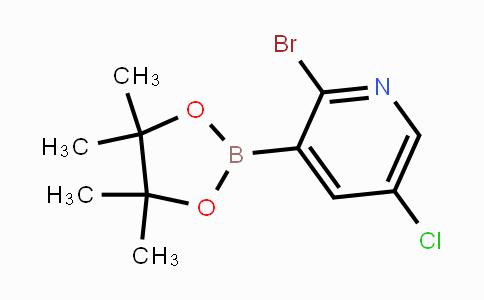 2121511-83-7 | 2-Bromo-5-chloropyridine-3-boronic acid pinacol ester