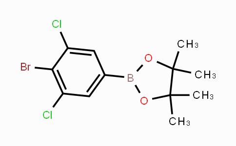 MC450362 | 942069-45-6 | 2-(4-Bromo-3,5-dichlorophenyl)-4,4,5,5-tetramethyl-1,3,2-dioxaborolane
