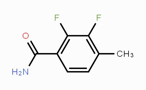 261763-35-3 | 2,3-Difluoro-4-methylbenzamide