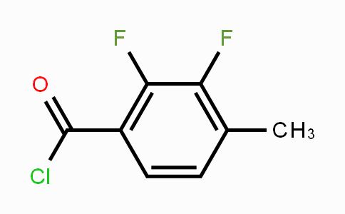 MC450389 | 261763-38-6 | 2,3-Difluoro-4-methylbenzoyl chloride