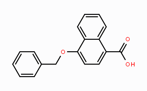 87344-63-6 | 4-(Phenylmethoxy)-1-naphthalenecarboxylic acid