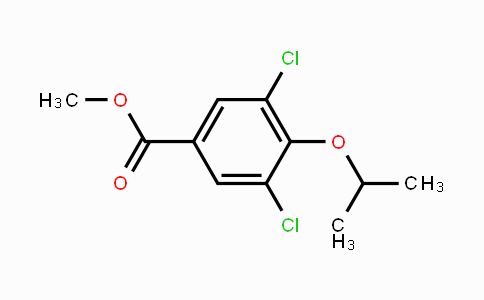 MC450398 | 856165-88-3 | Methyl 3,5-dichloro-4-isopropoxybenzoate