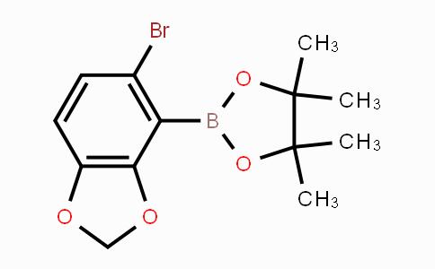 2121514-16-5 | 5-Bromobenzo[1,3]dioxole-4-boronic acid pinacol ester