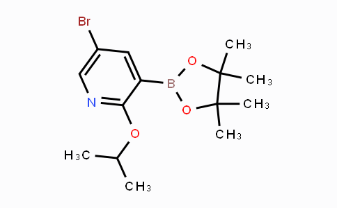2121511-77-9 | 5-Bromo-2-isopropoxypyridine-3-boronic acid pinacol ester