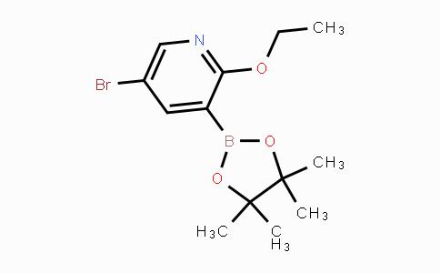 2121514-85-8 | 5-Bromo-2-ethoxypyridine-3-boronic acid pinacol ester
