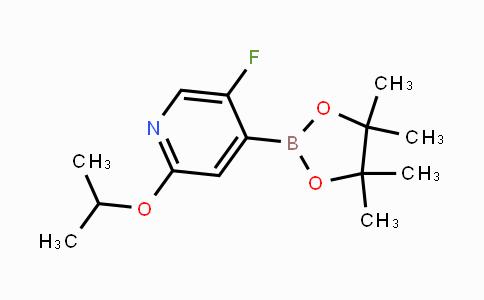MC450415 | 2121511-50-8 | (5-Fluoro-2-isopropoxypyridin-4-yl)boronic acid pinacol ester