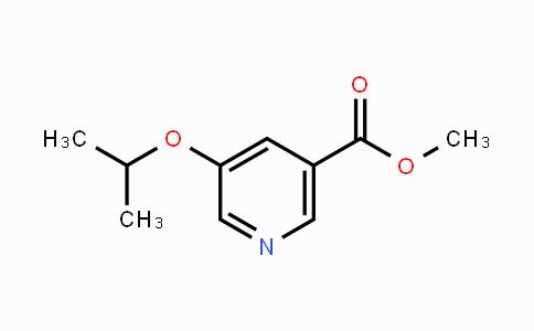874285-24-2 | Methyl 5-isopropoxynicotinate