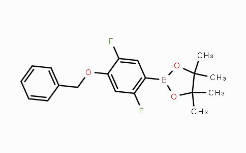 MC450431 | 2121514-83-6 | 2,5-Difluoro-4-benzyloxyphenylboronic acid pinacol ester