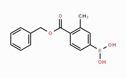 2121514-45-0 | 4-(Benzyloxycarbonyl)-3-methylphenylboronic acid
