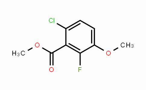 1379296-92-0 | Methyl 6-chloro-2-fluoro-3-methoxybenzoate