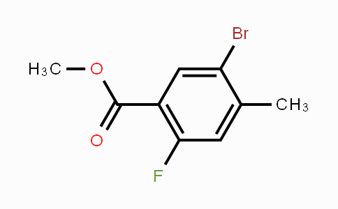 MC450470 | 478374-76-4 | Methyl 5-bromo-2-fluoro-4-methylbenzoate