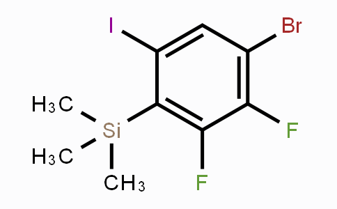 DY450522 | 1807646-35-0 | 4-Bromo-2,3-difluoro-6-iodo-1-(trimethylsilyl)benzene