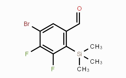 DY450533 | 1809158-01-7 | 5-Bromo-3,4-difluoro-2-(trimethylsilyl)benzaldehyde