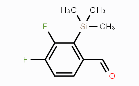 DY450535 | 1809161-51-0 | 3,4-Difluoro-2-(trimethylsilyl)benzaldehyde