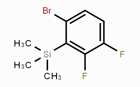 DY450536 | 473417-24-2 | (6-Bromo-2,3-difluorophenyl)trimethylsilane