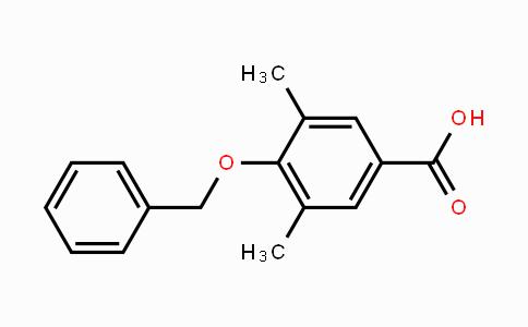 97888-80-7 | 4-Benzyloxy-3,5-dimethylbenzoic acid