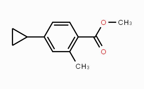 MC450607 | 909698-09-5 | Methyl 4-cyclopropyl-2-methylbenzoate