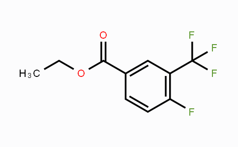 67515-63-3 | 4-Fluoro-3-trifluoromethylbenzoic acid ethyl ester