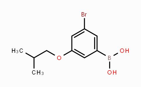 918904-39-9 | 3-Bromo-5-isobutoxyphenylboronic acid
