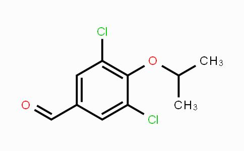 692281-56-4 | 3,5-Dichloro-4-isopropoxybenzaldehyde