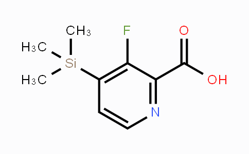 DY450970 | 1809168-70-4 | 3-Fluoro-4-(trimethylsilyl)pyridine-2-carboxylic acid