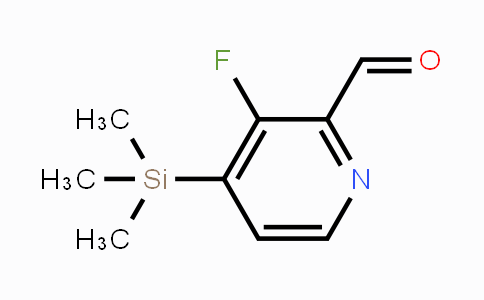 DY450971 | 1809157-89-8 | 3-Fluoro-4-(trimethylsilyl)pyridine-2-carbaldehyde