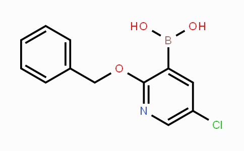 850864-58-3 | 2-Benzyloxy-5-chloropyridine-3-boronic acid