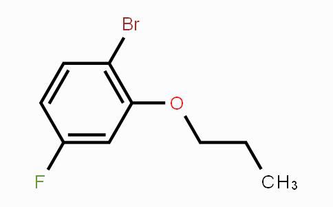 473417-38-8 | 1-Bromo-4-fluoro-2-propoxybenzene