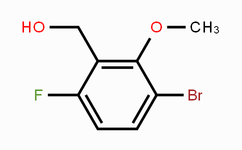 648439-20-7 | 3-Bromo-6-fluoro-2-methoxybenzenemethanol