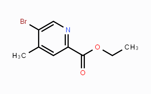 1122090-39-4 | Ethyl 5-bromo-4-methylpicolinate