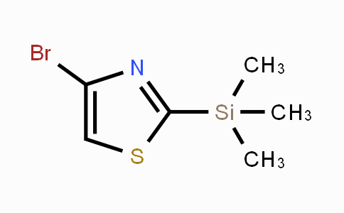 CAS No. 108306-53-2, 4-Bromo-2-trimethylsilanylthiazole