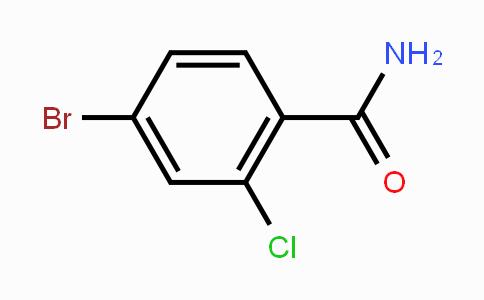 MC451201 | 426265-73-8 | 4-Bromo-2-chlorobenzamide