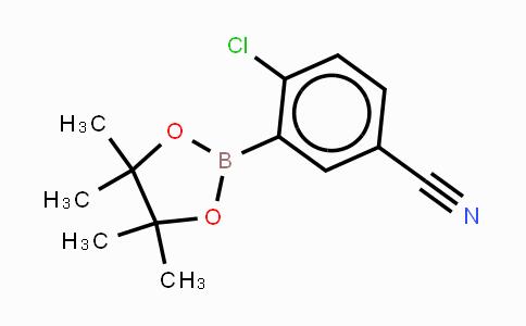 863868-30-8 | 4-氯-3-(4,4,5,5-四甲基-1,3,2-二氧硼烷)-苯甲腈