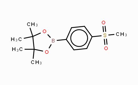 603143-27-7 | 4-(Methanesulfonyl)phenylboronic acid, pinacol ester