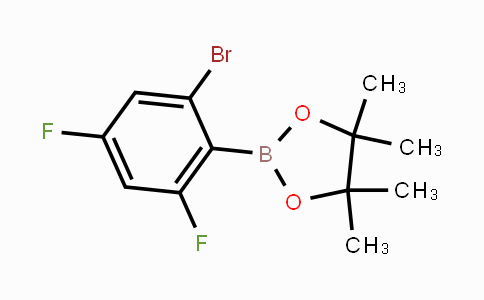 MC451229 | 2121513-38-8 | 2,4-Difluoro-6-bromophenylboronic acid pinacol ester